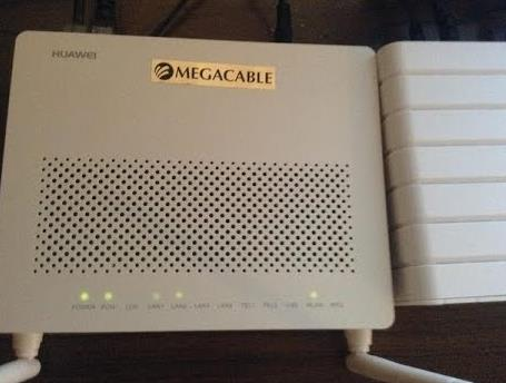 router megacable wifi